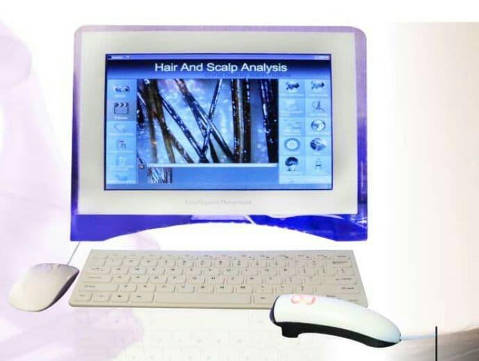 دستگاه آنالیز پوست و موی  کامپیوتری